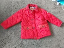 Boys 12-18month  Next Red quilted Coat Excellent Condition