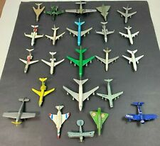 Vintage Die-Cast Zylmex Planes Lot of 23 Aircraft toys