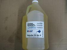 1 Gal Of Mobil Velocite Spindle Oil 6 For Bridgeport Mill Amp Hardinge Lathe