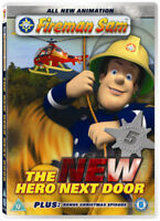 Fireman Sam: The New Hero Next Door DVD (2008) Fireman Sam cert U ***NEW***