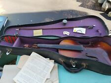 vintage montgomery ward stradivarius replica violin in original case