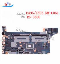 02dL979 For Lenovo ThinkPad E595 E495 Nm-c061 Laptop Motherboard R5-3500