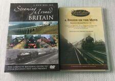 Steaming Around Britain & A Region on The Move - Yorkshire Steam Train DVDs W969