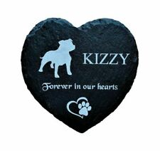 Personalised Pet Memorial Grave Marker Plaque Staffordshire Bull Terrier STAFFY