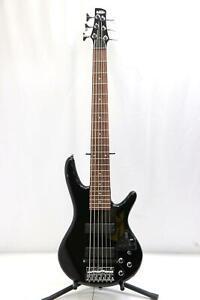 Ibanez (GSR206) 6-String Electric Bass Guitar w/ Roland GK-2B Pick-Up