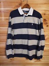 Ralph Lauren Polo Rugby Shirt XXL Cotton Striped