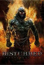 DISTURBED - INDESTRUCTIBLE FABRIC POSTER - 30x40 WALL HANGING - DEMON HFL1022