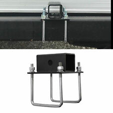 "RV 4"" Mount for 1.25"" and 2"" Hitch RV Square Bumper Receiver Adapter"