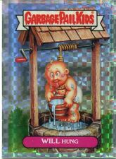 Garbage Pail Kids Chrome Series 1 X Fractor Lost Card L14b Will Hung