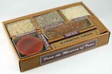 4 Resin Incense Sampler Kit with Charcoal and Terra Cotta Burning Dish!