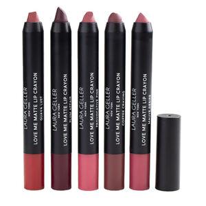 Laura Geller Love Me Matte Lip Crayon, .05oz/1.5g DAMAGED TIP