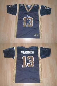 Youth St Louis Rams Kurt Warner L (14/16) Puma Jersey