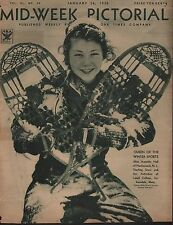 1935 Queen Of The Winter Sports, Miss Jeanette Hall, Lasell College, Auburndale