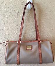 Dooney And Bourke Purse Brown Shoulder Medium Duffel Handbag