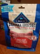 Blue Buffalo Dental Bones For Dogs New in Package