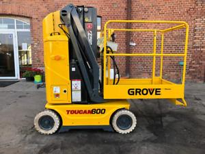Grove Toucan 800 acces platform scissor lift mast platform