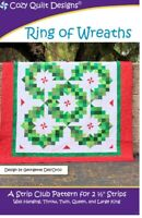 Ring of Wreaths Quilt Pattern by Cozy Quilt Designs