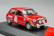 Renault 5 TS #78 Sáinz/Lacalle 23rd Rally Shalymar Madrid 1980 ALTAYA-IXO 1:43