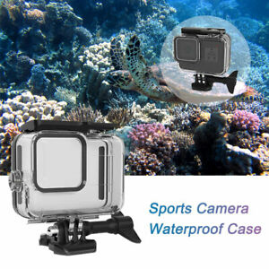 For Gopro 8 Waterproof Sports Camera Case Underwater Protective Cover Dive 60M