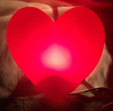 IKEA SMILA Light Up Heart Red NEW Includes Bulb