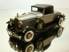 BRK 1931 STUDEBAKER PRESIDENTAL CONVERTIBLE ROADSTER - 1:43 - EXCELLENT - 6