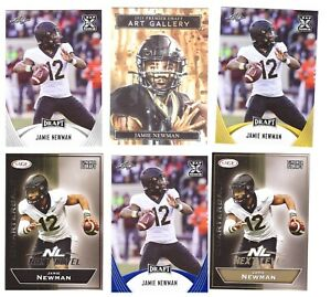 2021 JAMIE NEWMAN Rookie Card FOOTBALL LOT EAGLES RED HOT CARDS !!!!