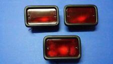 3 Pcs Rear Bumper Red Fog Light x4 Lancer Evo Evolution 1 2 3 4 5 6 7 8 9 New