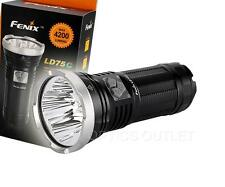 Fenix LD75C 4200 Lumens White Red Green Blue Multi-color LED Flashlight [ TK75 ]