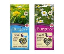 Burgess EXCEL HERBS Mountain Meadow Country Garden Natural Treats Rabbit 120gm