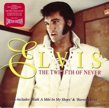 NEW! ELVIS THE TWELFTH OF NEVER  b/w WALK A MILE/BURNING LOVE Ltd Edition #9961