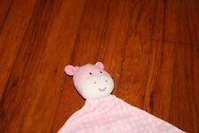 Carters Child Of Mine Pink White Polka Dot Giraffe Security Blanket Rattle