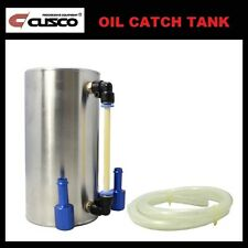 New Cusco Polished Aluminum 9mm Oil Catch Tank 0.6L