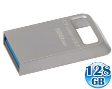 KINGSTON 128GB 128G DataTraveler DT MICRO 3.1 USB 3.0 Memory Flash Drive 100MB/s