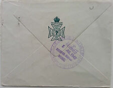CANADA 1943 THE REGINA RIFLE REGIMENT STATIONERY FIELD POST COVER WITH CACHET