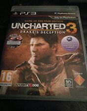 UNCHARTED 3 Drakes Inganno Gioco Dell'Anno Edizione Sony Playstation 3 PS3