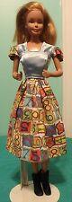 "Framed Numbers School Dress for 18"" Supersize Barbie or Tiffany Taylor SSHS87"
