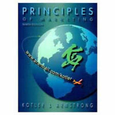 The Principles of Marketing, Kotler, Philip & Armstrong, Gary, Used; Good Book