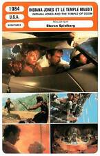 FICHE CINEMA : INDIANA JONES ET LE TEMPLE MAUDIT - Spielberg 1984 Temple Of Doom