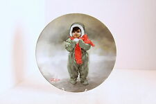 WINTER ANGEL Collector's Plate...Donald Zolan...Wonder of Childhood Collection