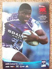 London Welsh v I Cavalieri - Amlin Challenge Cup Rugby Programme January 12th'13
