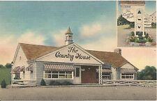Country House Restaurant New Kingston PA Roadside Postcard