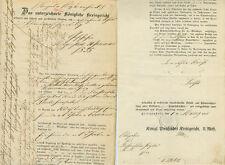 ANTIK Alte Handschrift Urkunde Hypothekenurkunde Heiligenstadt 1879