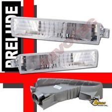 97-01 Honda Prelude Front Bumper Signal Lights 1 Pair 98 99 00