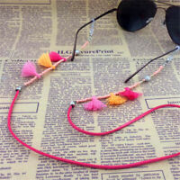 Sunglasses Tassel Cord Strap Eyeglass Chain Reading Glasses Spectacles Holder D