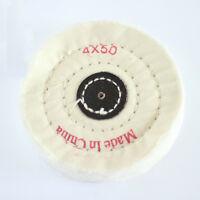 "New 4''/100mm Cloth Buffing Polishing Wheel 1/2""  Buffer Polish Grinder Pad 1PC"