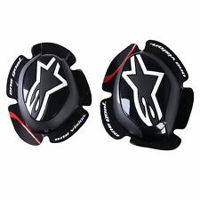 Alpinestars GP Pro Motorcycle Bike Riding Knee Sliders - Black (Pair)