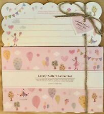 Lovely Pattern Letter Set - Cute Artbox Korean Stationery - Kawaii writing paper