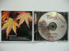 Christine Brewer sing Strauss Songs Arias Metamorphosen BBC SO Weller BBC 242 CD