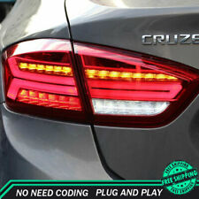 New For Chevrolet Cruze LED Taillights 2016-2018 Red LED Rear Lamps Dynamic