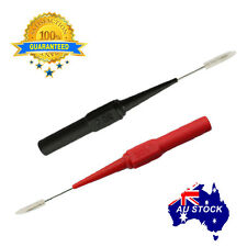 Multimeter testing lead  for fluke Extention back probes sharp needle micro pin